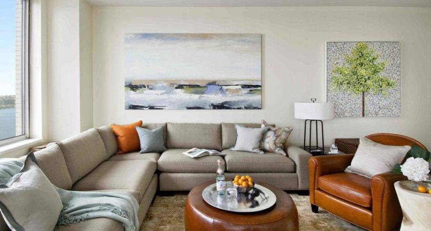 Contemporary Coastal Chic Cozy Living Room Decor Decosee