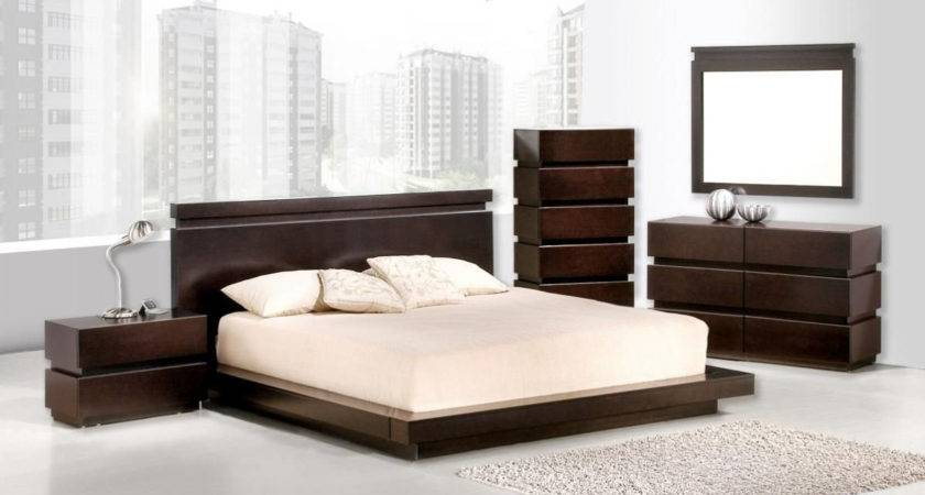 Contemporary Dark Wood Bedroom Furniture Homefurniture