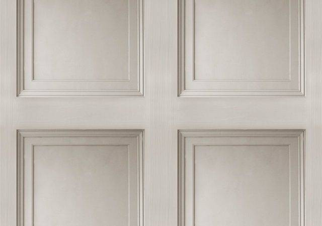 Contemporary Faux Paneling Architectural Wainscot