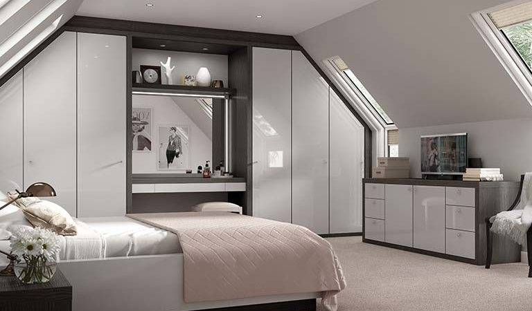 Contemporary Fitted Bedroom Furniture Strachan