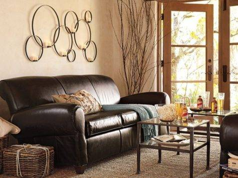 Contemporary Living Room Decorating Ideas Brown
