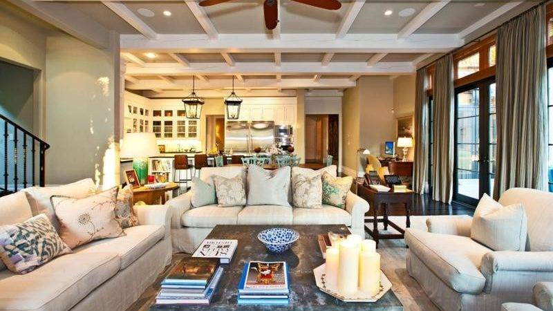 Contemporary Living Room Decorating Ideas Rustic