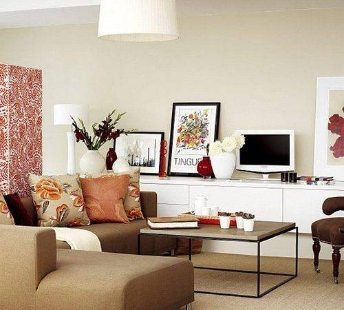 Contemporary Living Room Furniture Small Spaces