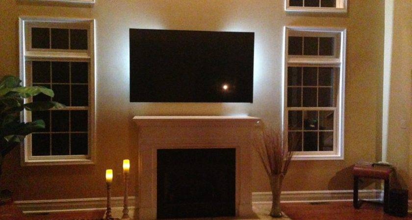 Contemporary Living Room Ideas Wall Mounting Stand