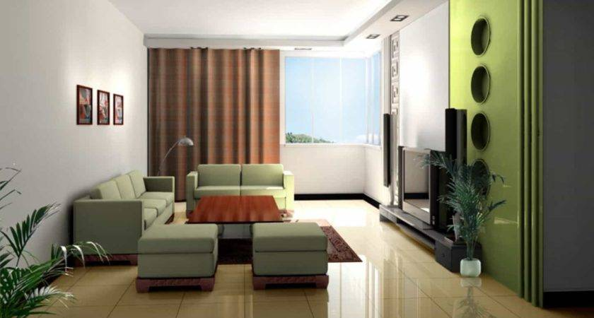 Contemporary Living Room Small Space Nice Seating