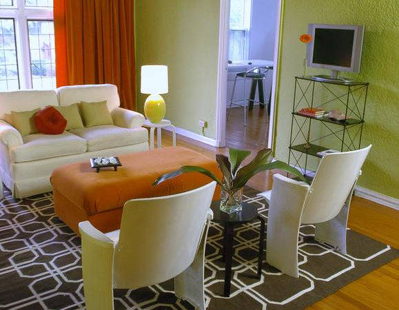 Contemporary Living Space Photos Hgtv