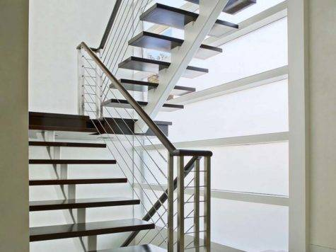 Contemporary Slim Staircase Design