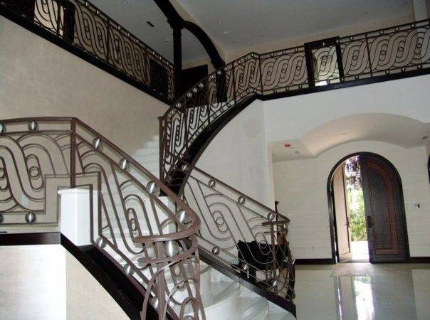 Contemporary Stair Railings Staircase