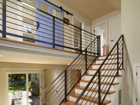 Contemporary Stairs Railing Safe Safety Houses Plans