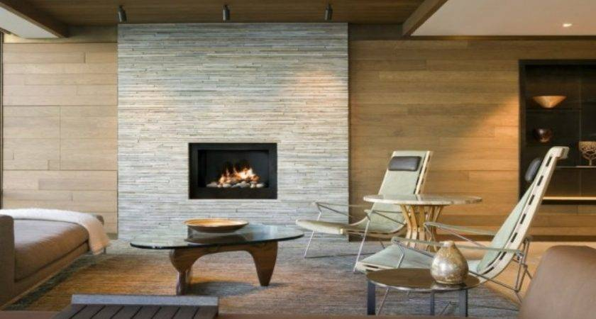 Contemporary Stone Fireplaces Callforthedream