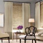 Contemporary Window Treatments Living Room