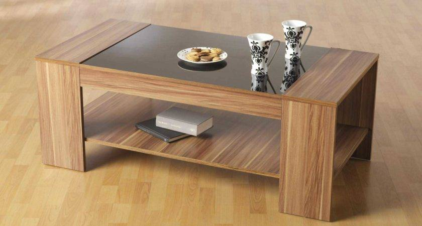 Contemporary Wooden Coffee Table Tables Ideas