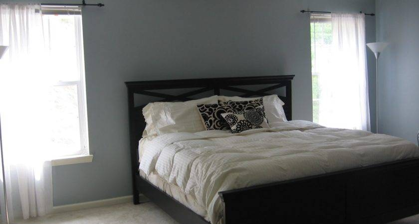 Cool Best Blue Gray Paint Color Bedroom Concerning