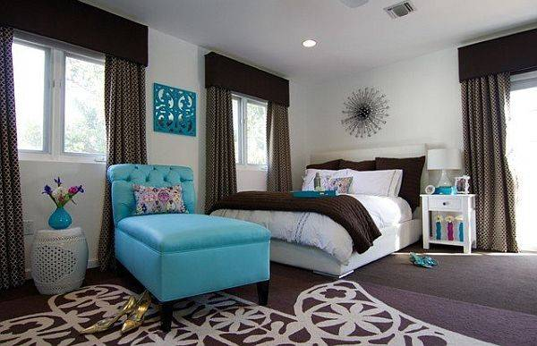 Cool Blue Brown Bedroom Colors Ideas Specs Price