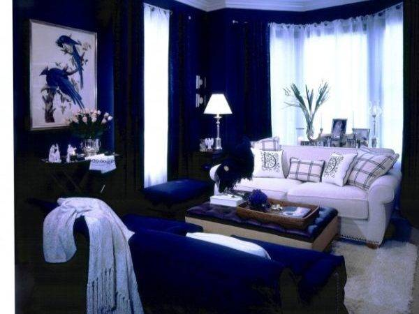 Cool Blue Living Room Ideas