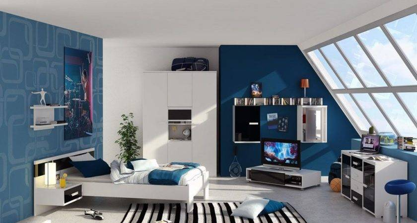 Cool Boys Teenage Bedrooms Themes Home Design Ideas