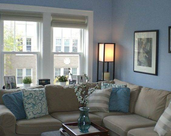 Cool Brown Blue Living Room Designs Digsdigs Beige