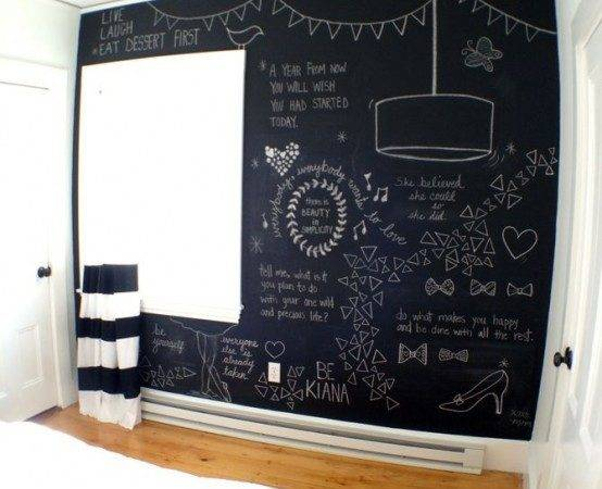 Cool Chalkboard Bedroom Cor Ideas Rock Digsdigs
