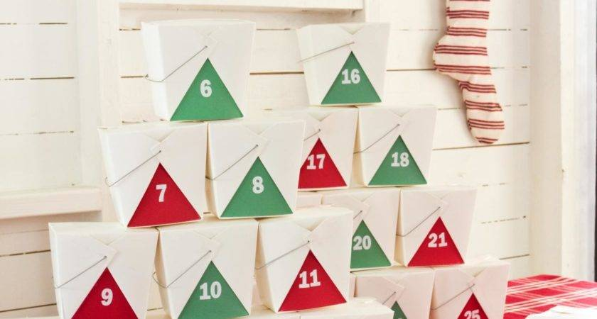 Cool Christmas Advent Calendar Ideas Festival Around