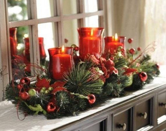 Cool Christmas Holiday Candles Decoration Ideas