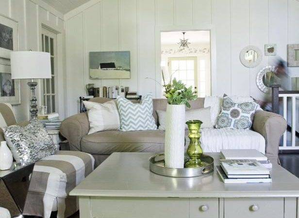 Cool Cottage Living Rooms Upon Home Style Tips