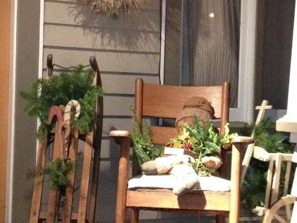Cool Decorating Ideas Christmas Front Porch Xerxes