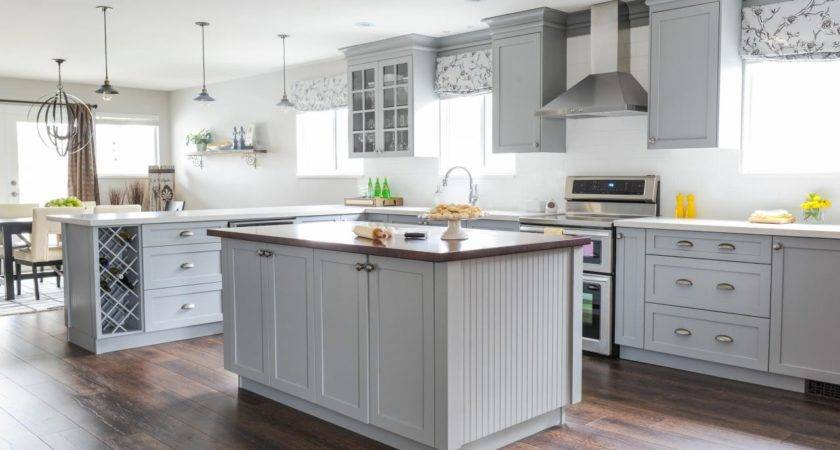 Cool Gray Cabinets Kitchen Tjihome