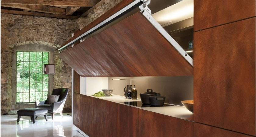 Cool Hidden Kitchen Warendorf Idesignarch Interior