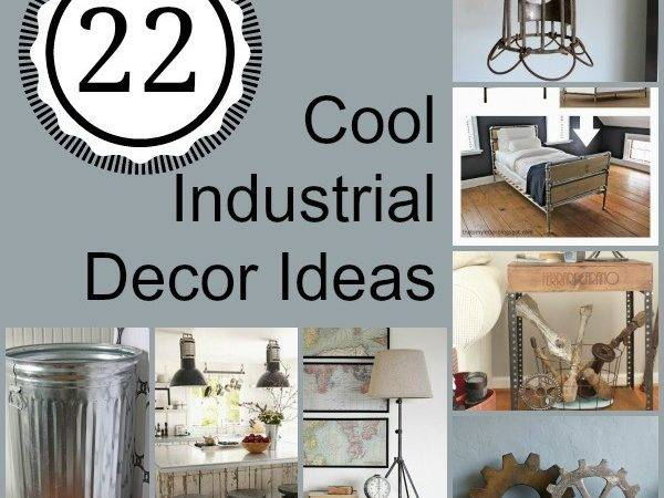 Cool Industrial Decor Ideas Does She