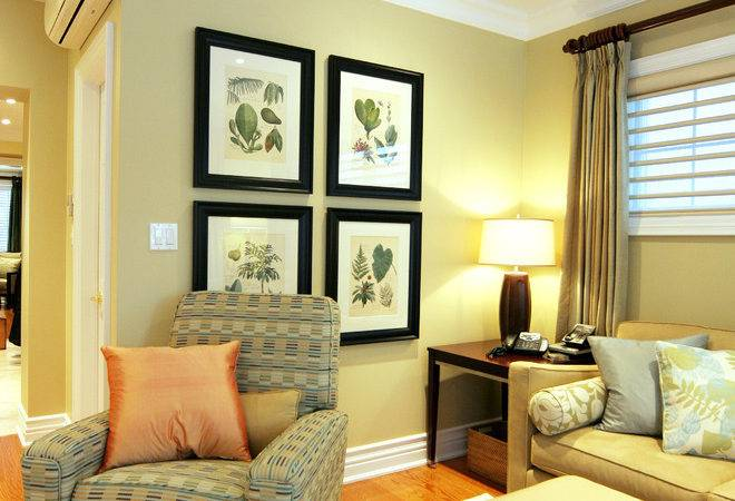 Cool Large Gold Frames Decorating Ideas