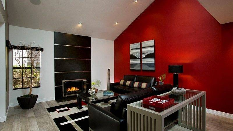 Cool Living Room Color Schemes Black White Also