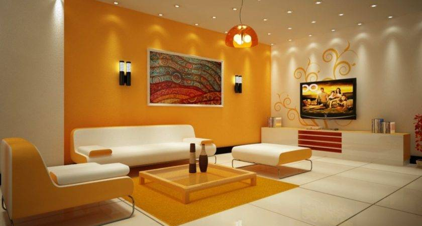 Cool Painting Walls Different Colors Living Room Tittle