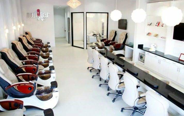 Cool Salons Nail Bar Spa Foothill Ranch Calif