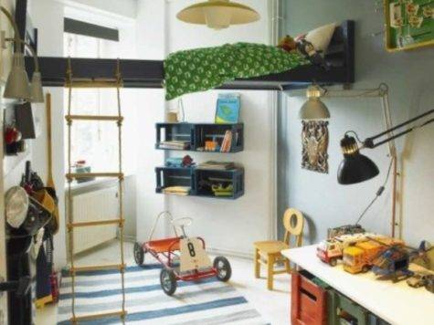 Cool Suspended Beds Kids Bedroom Kidsomania