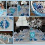 Cool Winter Wonderland Table Decorations