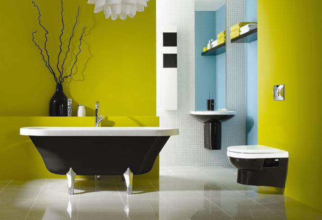 Cool Yellow Bathroom Design Ideas Freshnist