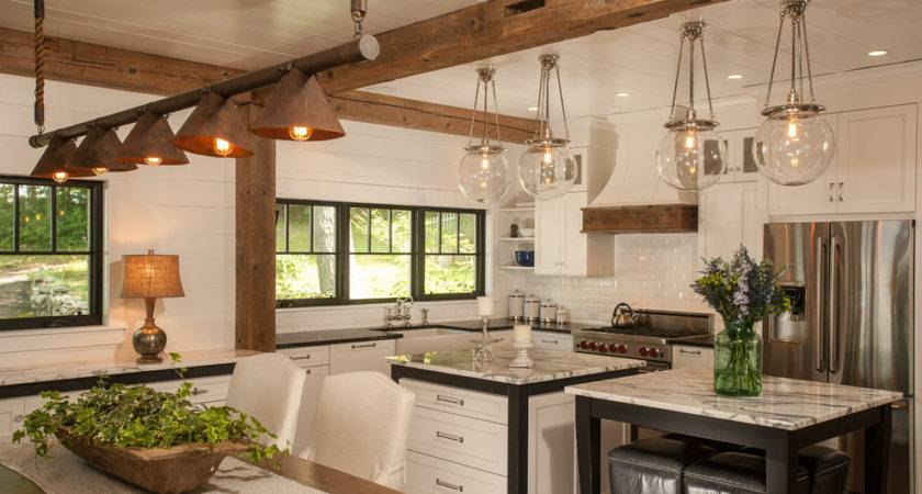Copper Light Fixtures Kitchen Traditional