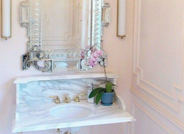 Cor Inspiration Perfectly Pretty Powder Rooms