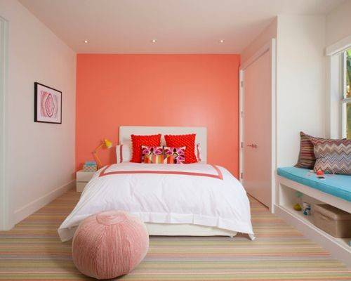 Coral Walls Houzz