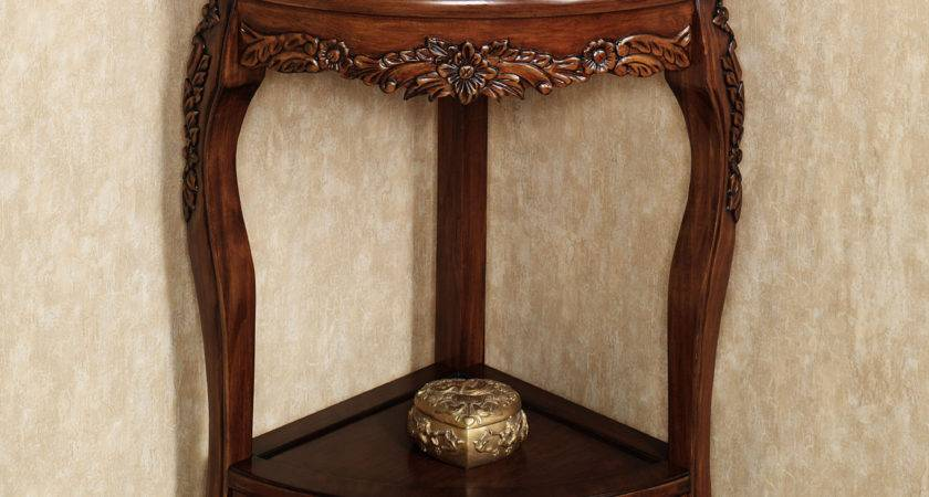 Corner Accent Table White Various Options