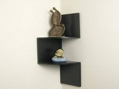 Corner Shelf Wall Mounted Cubby Storage Stroovi