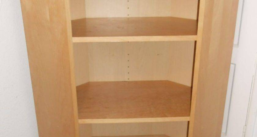 Corner Shelving Unit Storage Ikea Billy Bookcase