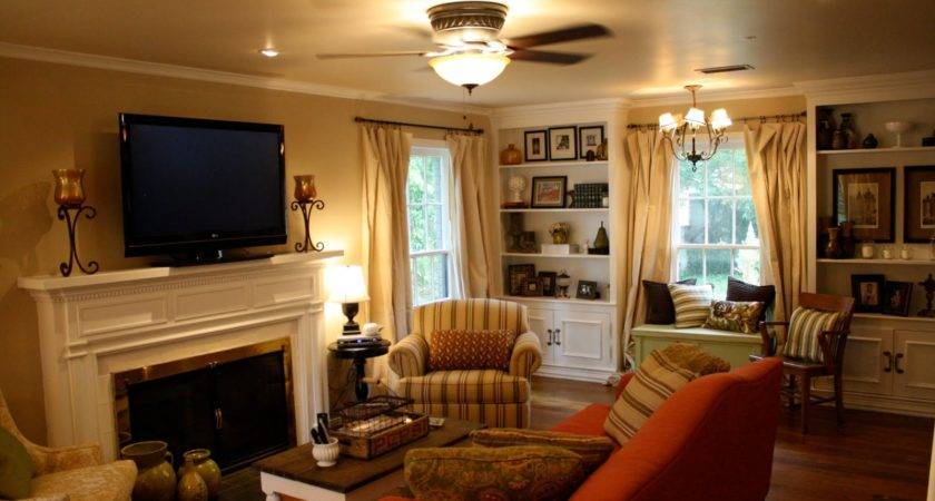 Cosy Country Living Room Ideas Peenmedia