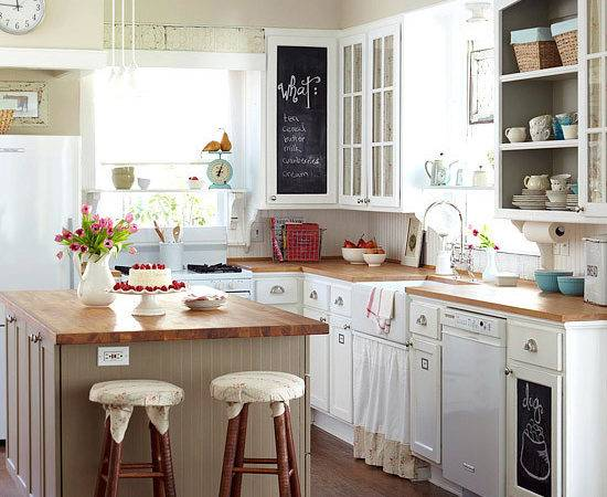 Cottage Farmhouse Kitchens Inspiring White Fox