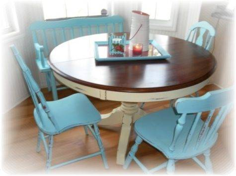 Cottage Style Kitchen Table Chairs