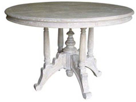 Cottage Style Raffles Round Dining Table