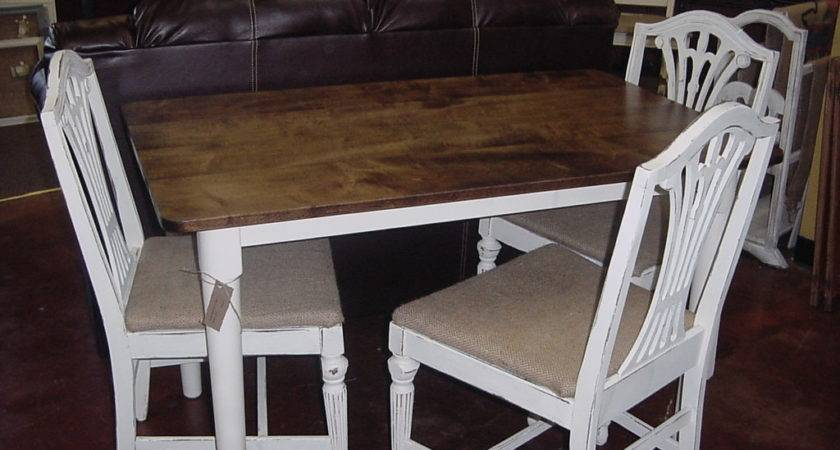 Cottage White Country Table Chair Set Just