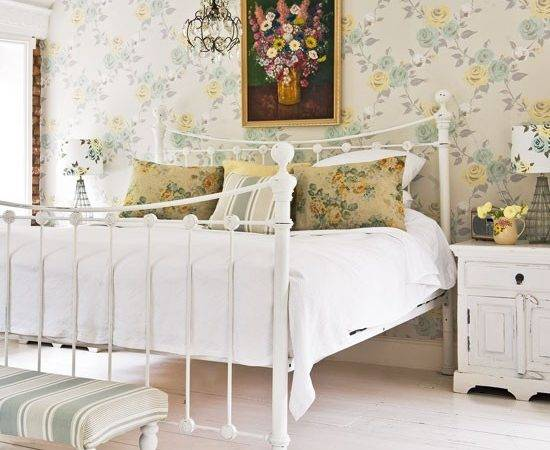 Cottages Style Beds Rooms Bedrooms Antiques