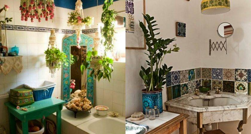Could Eclectic Little Bath Dubbed French Bohemian