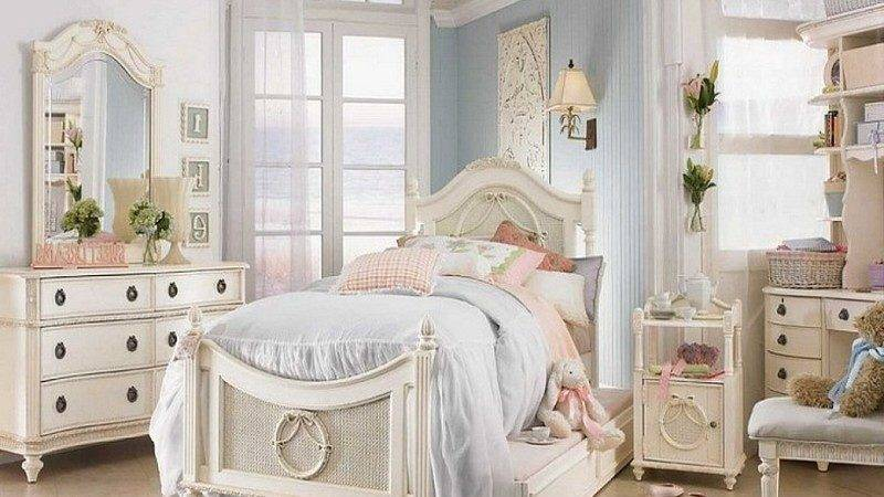 Country Chic Bedroom Ideas Shabby Girls